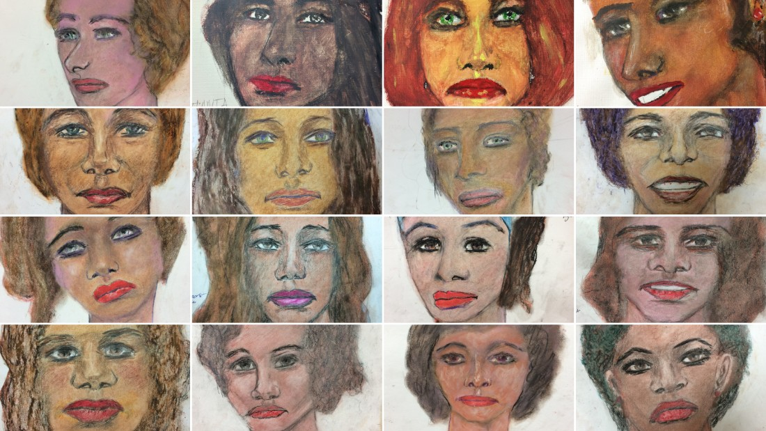 FBI hopes serial killer's portraits of victims could lead to identifications