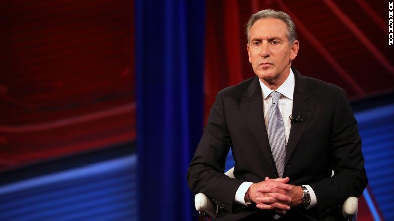 Howard Schultz must sell his Starbucks shares if he runs for president