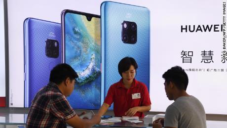Huawei ist Apple in China niedergeschlagen und die Vereinigten Staaten sind teilweise schuld