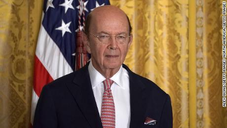 Ross, the US commerce secretary, visits India as trade tensions between the two countries are escalating.