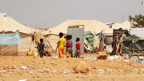 Camka Refugee Markazi in Djibouti.