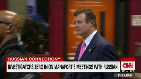 Investigators zero in on Manafort's meetings with key Russian