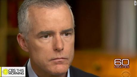 Ex-FBI official McCabe confirms discussions about removing Trump after Comey firing