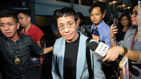 Philippines journalist Maria Ressa's court appearance postponed