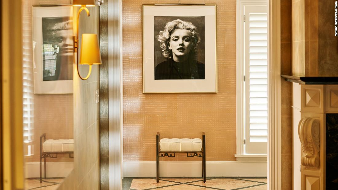 Spend the night like Marilyn Monroe or Howard Hughes at Beverly Hills Hotel
