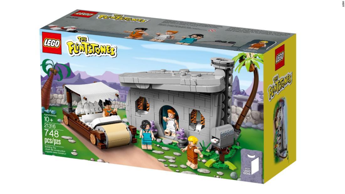 Check out the new Lego Flintstones house, and save big on other sets