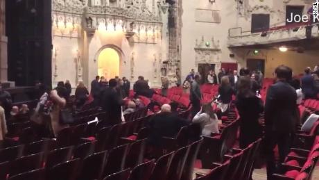 Mass Chaos Clears Theatre During 'Hamilton' Performance In San Francisco