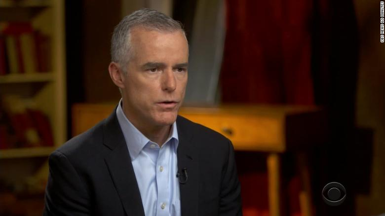 McCabe: Rosenstein Was Counting Votes on 25th Amendment Effort for Trump's Removal