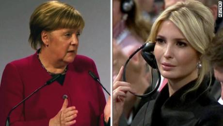 angela merkel ivanka trump german cars security threat sot sanger nr vpx_00000102