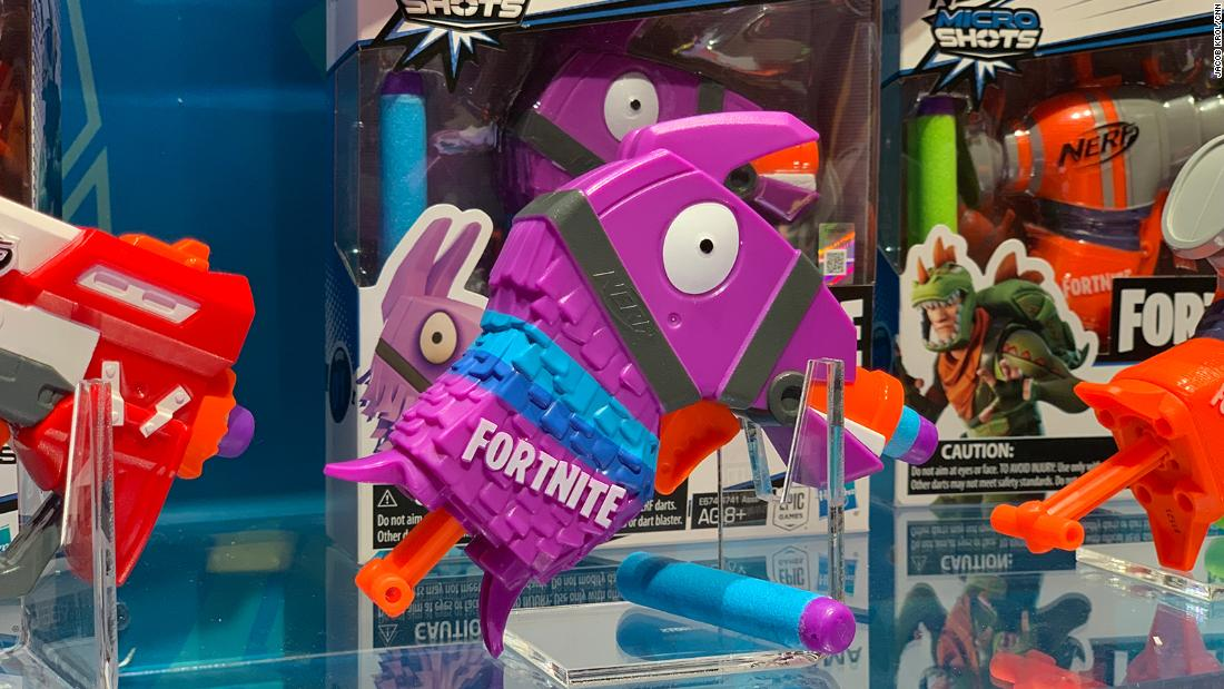 Are you a Fortnite fan? You have to check out Nerf's newest line