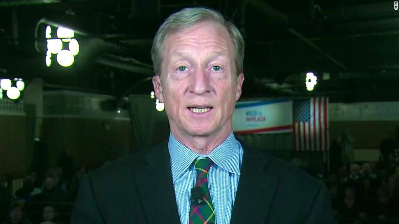 California billionaire Tom Steyer launches 2020 presidential campaign