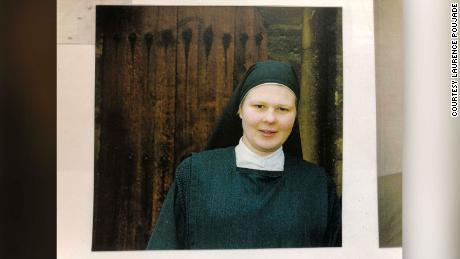An undated image of former nun Laurence Poujade, who now helps abuse victims.
