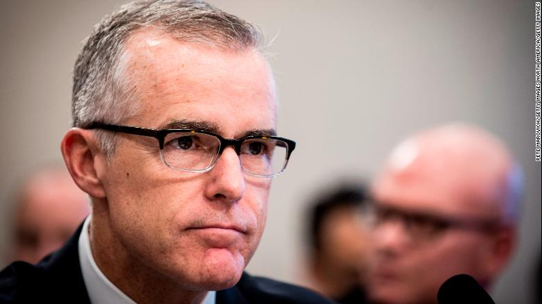 Former FBI Deputy Andrew McCabe loses appeal to avoid criminal charges