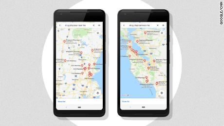 Google Maps unveils feature to guide users to drug drop-off sites