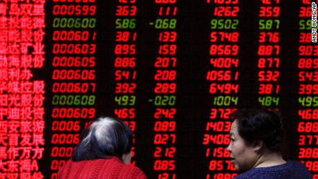 Fears over the trade war and China's economic slowdown have had a major impact on Chinese stock markets.