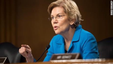 Elizabeth Warren's mission to break up Facebook gets help -- from Facebook