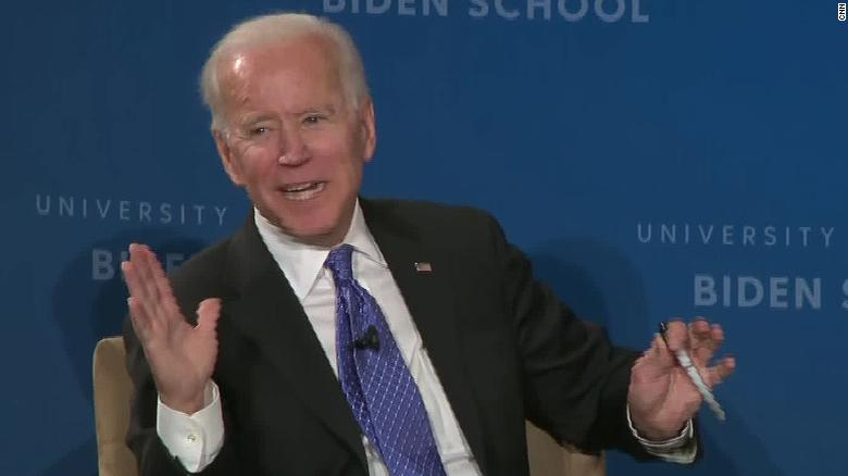 Biden forced to retract remark Pence 'a decent guy'