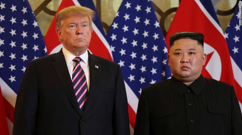 Trump walks away from deal with Kim over N.Korean sanction demands
