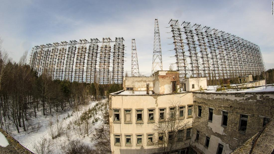 Duga radar: Enormous abandoned antenna hidden in forests near Chernobyl