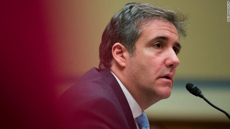 Michael Cohen committed perjury 'on a scale not seen before'