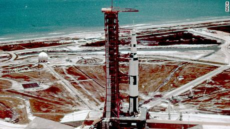 The Saturn V rocket that powered the Apollo moon missions used Road 39A at the Cape. The launch site is now being used by Elon Musk's SpaceX.