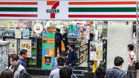 7-Eleven operates more than 67,000 stores worldwide.