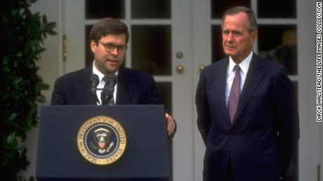What Barr's work under Bush 41 tells us about how he'll handle his new job