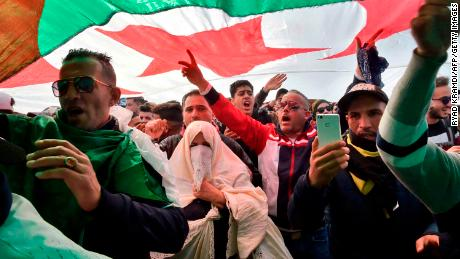 Protests continue over Bouteflika's fifth presidential run