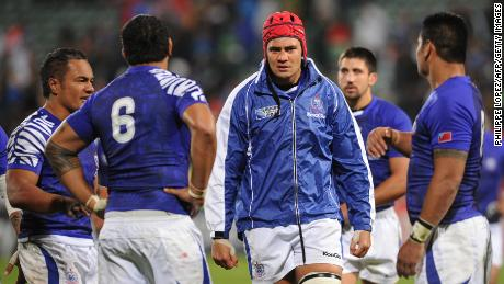 Daniel Leo was capped 39 times by Samoa during a ten-year international career. He is now chief executive of Pacific Rugby Players Welfare (PRPW).