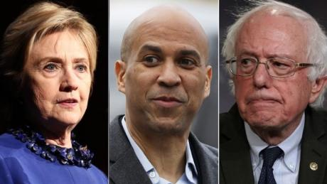 clinton booker sanders split