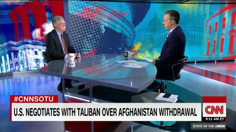 USA  envoy says progress made in talks with Taliban