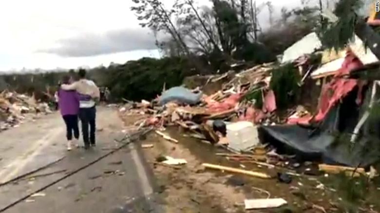 More than 10 dead after tornadoes hit Lee County, AL
