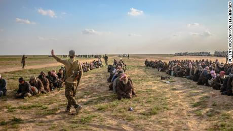 Syrian regime strikes ISIS positions after clashes in country's interior