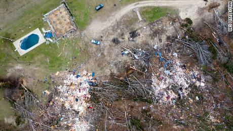 Lee County Alabama Tornado Damage