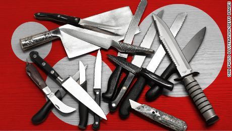 Four graphics that help explain Britain's knife crime crisis