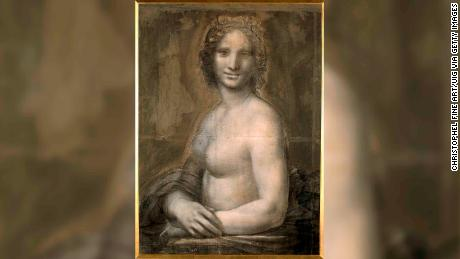 'Nude Mona Lisa' may have been drawn by Leonardo da Vinci