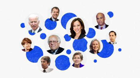 Here are the 22 Democrats who have said they're running for president