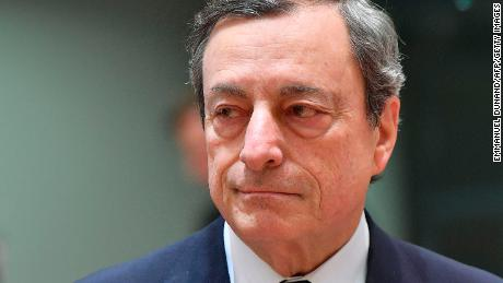 ECB pushes back rate hikes as Mario Draghi warns of slowing economy