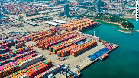 Chinese exports plunged 21% in February from a year earlier, according to Chinese government data.