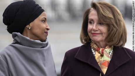 Pelosi says she talked with Sergeant-at-Arms about Omar's safety following Trump tweet