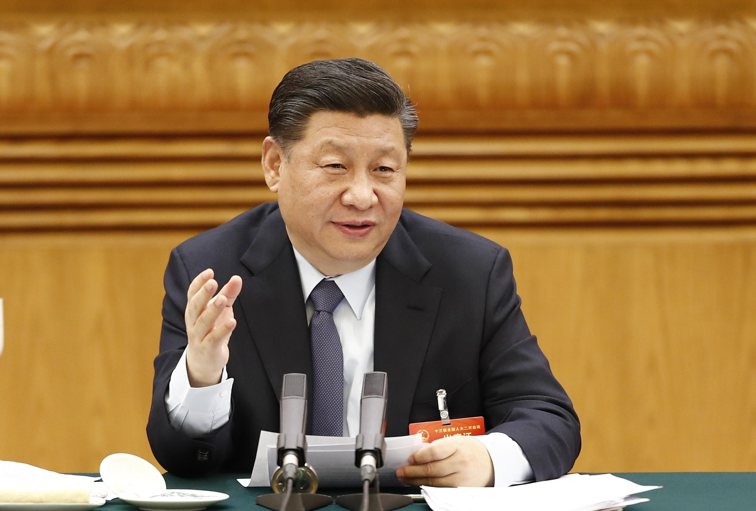 Gray Leap Forward Xi Jinping Shows Natural Hair Color In A Rare Move For Chinese Politics Cnn Style