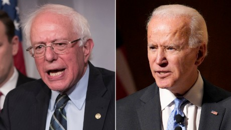 Bernie Sanders accuses Biden of 'misinformation' in pitched battle over 'Medicare for All'