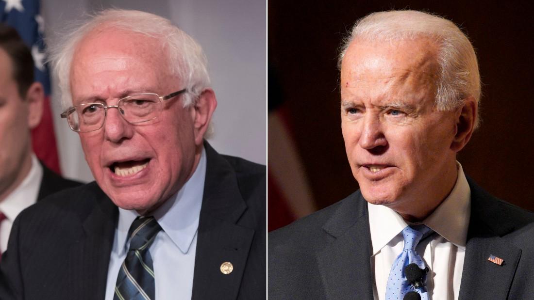 Bernie Sanders draws sharp contrasts with Joe Biden - CNNPolitics