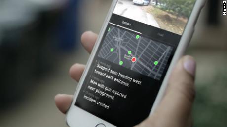 Citizen ، برنامه هشدار در زمان واقعی جرم ، در شهرهای بزرگ در حال رشد است