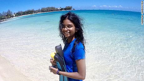 22-year-old Shaama Sandooyea organized the first climate strike in Mauritius.