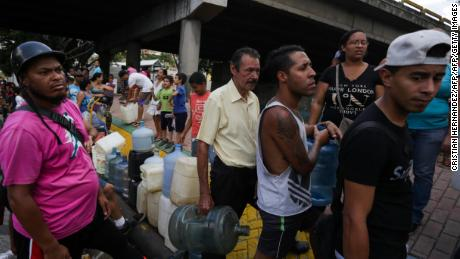 Venezuelan power outage 'act of political sabotage'