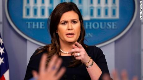 Sarah Sanders deflects when asked about Trump calling Democrats 'anti-Jewish'