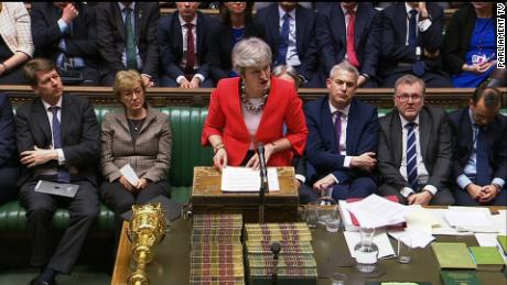 Brexit vote: Theresa May's deal overwhelmingly crushed by lawmakers for second time