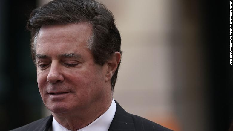 Paul Manafort transferred to federal prison in lower Manhattan