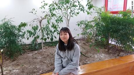 "17-year-old Seo-gyung Kim says adults are passing the climate change ""burden""  to future generations."